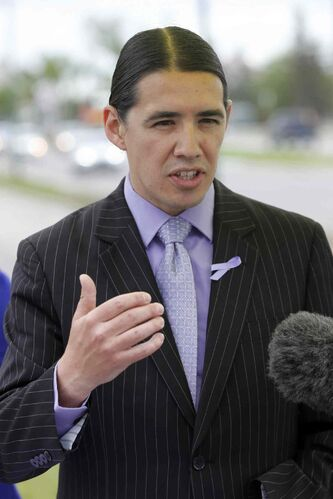 If elected mayor, Robert-Falcon Ouellette is promising to cut salaries of City of Winnipeg employees who make over $80,000.