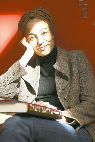 British author Zadie Smith