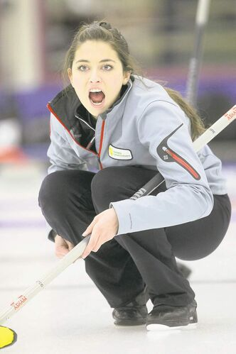 Manitoba�s Shannon Birchard is off to a 2-0 start with wins over Northern Ontario and P.E.I.