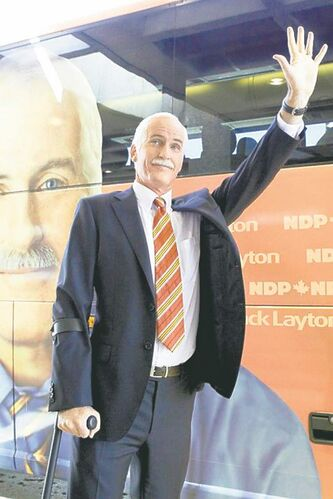 Rick Roberts as Jack Layton