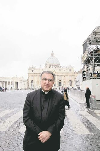 The experience of being the English spokesman for the Vatican press office during 30 crazy days in February and March has convinced Father Thomas Rosica of the value of more contact with journalists, not less.