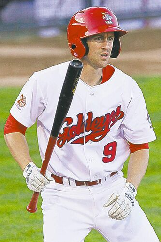 Tyler Graham hopes he can add  some punch to the Goldeyes'  faltering offence.