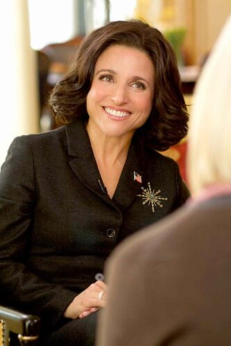 Julia Louis-Dreyfus stars as the U.S. vice-president in Veep.