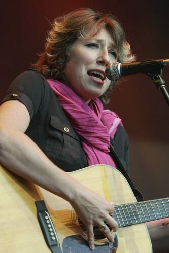 Martha Wainwright performs in Quebec City in 2011.
