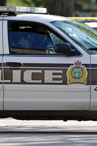 Winnipeg Police arrested four suspects after a robbery in Elmwood.