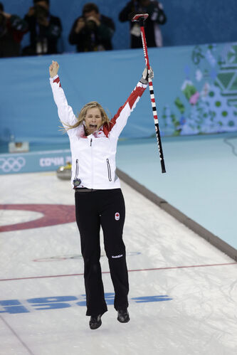 Jennifer Jones should carry Canada's flag during the closing Olympic ceremonies, Gary Lawless says.