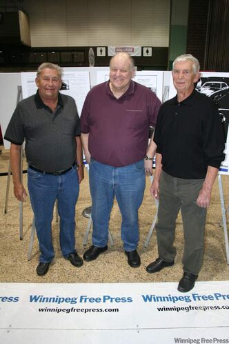 From left: Russ Martin, Brian Wheatley and Lou Kennedy.