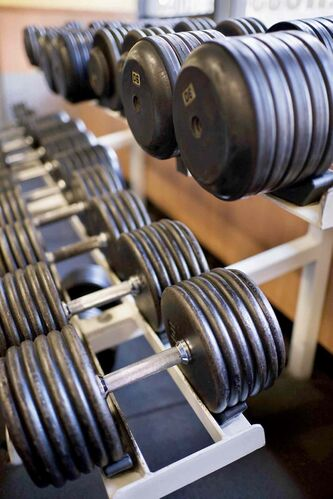 """When it comes to working out, the hardest step is the first one, so don't worry about """"the right time"""" or """"the right place"""" and just take it."""