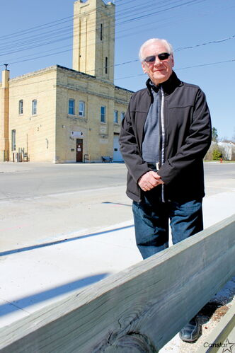 Ernie Nairn of the Assiniboia Chamber of Commerce, hopes the city will lease the Station No. 11 on Berry Street to the organization and the St. James Village BIZ.