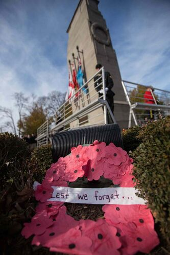No shopping until after 1 p.m. on Remembrance Day.
