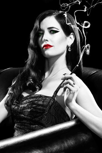 Eva Green in Sin City: A Dame To Kill For.