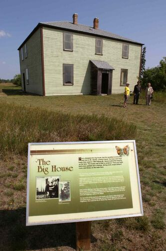 The Big House at the Criddle-Vane Homestead Provincial Park.