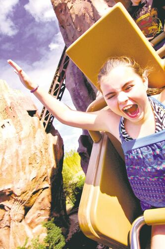 Expedition Everest elicits screams from riders.