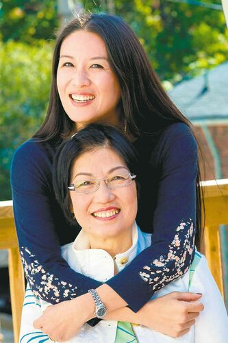 Elaine Lui (top, with her mother) brings her fresh, conversational style of writing to her first book.