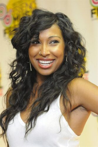 Melanie Fiona poses for photos at the Essence Music Festival in New Orleans on Sunday, July 8, 2012. The Toronto native has been nominated for a Grammy for best traditional R&B performance. THE CANADIAN PRESS/AP-Cheryl Gerber/Invision