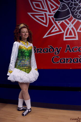 Glenelm resident Ceilidh Eckton will participate in the World Irish Dance Championships in Boston later this month.