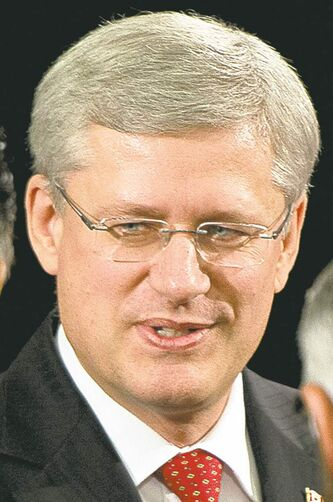 Stephen Harper: 'not our business'