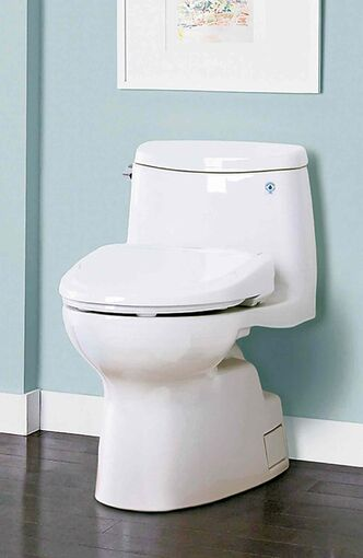 Toto: A Washlet S350 high-tech toilet. The company began marketing the Washlet in Japan in 1980. Now most Japanese households have toilets of the high-tech persuasion.