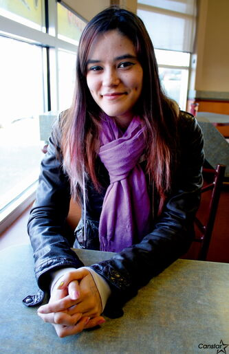 Anna MacDonald is one of two Garden City Collegiate students up for YMCA-YWCA Women of Distinction Award.