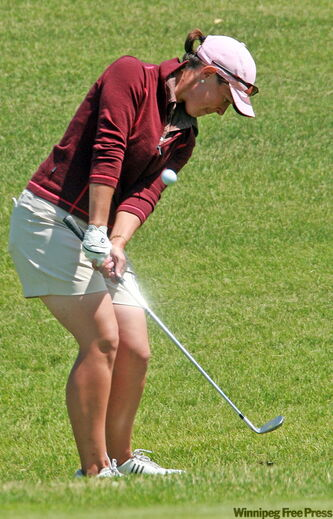 Tanis Hastmann lost her one-shot lead, finishing four back of Hardy.