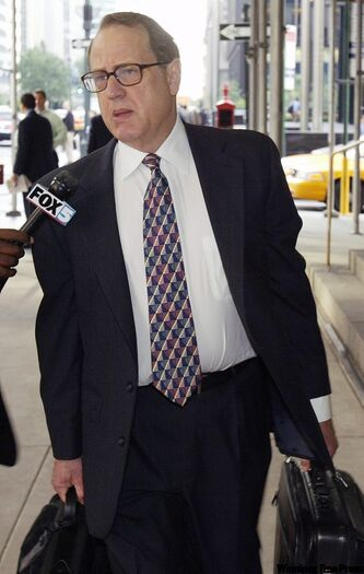 FILE - In this Thursday, May 20, 2004 file photo, Chicago White Sox owner Jerry Reinsdorf is shown.