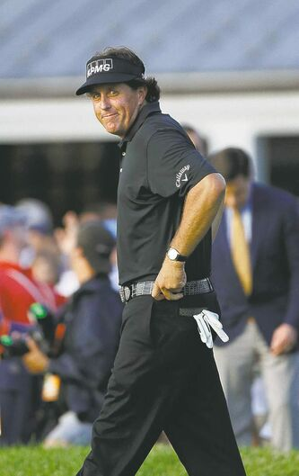 Phil Mickelson hopes to rebound from disappointment at U.S. Open.