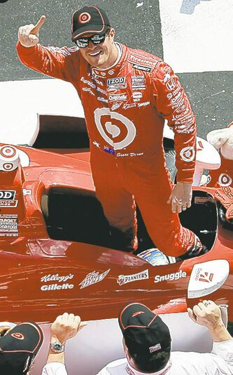 Scott Dixon returned to the winner's circle Sunday in Pennsylvania.