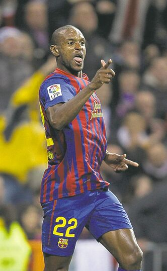 FC Barcelona and Eric Abidal are favoured.