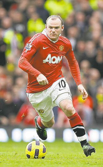Wayne Rooney and Man U will be near top.