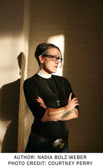 Nadia Bolz-Weber chronicles her journey from addiction to faith in her latest book.