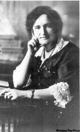 Eighty years ago, Nellie McClung of Canada's Famous Five fought all the way to the Supreme Court to have women ruled 'qualified persons.'