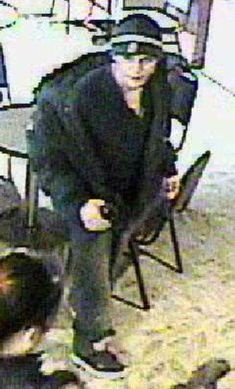 This suspect is described as male, in his 20s, wearing a dark toque and dark clothing.