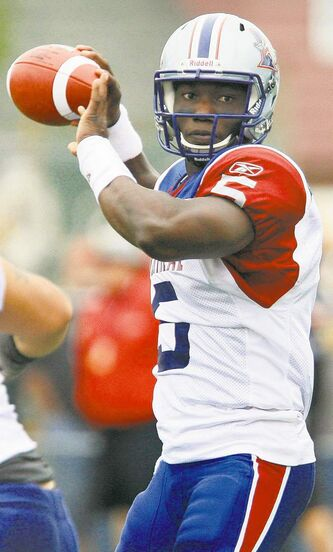 Montreal Alouettes backup quarterback Adrian McPherson gets the nod at starter today. He might just figure in the Blue Bombers' future.