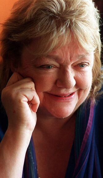 Irish author Maeve Binchy