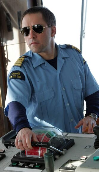Canadian Coast Guard Captain Stephane Julien of The Amundsen.
