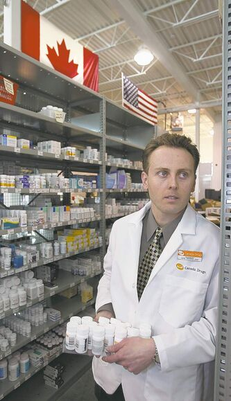Kris Thorkelson in 2003. His company, Canada Drugs, would become Canada's biggest Internet pharmacy.