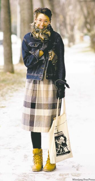 Janelle Wookey, fondatrice du blogue Canada Street Style.