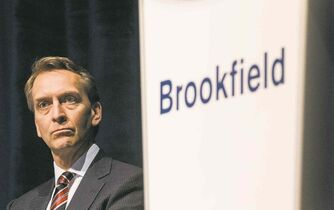 Brookfield Asset Management CEO Bruce Flatt spoke in Winnipeg Thursday night.