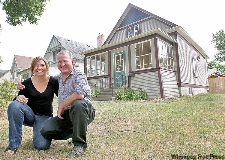 Jennifer and Garett Norberg live in this home at 152 Bannerman Ave. where famous Winnipeg singer Burton Cummings once lived with his grandmother.