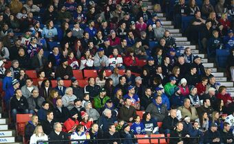 Hockey fans attend the AHL All-Star Classic at the Utica Memorial Auditorium, Jan. 26, 2015, in Utica, N.Y. Five NHL teams will have their top minor-league affiliates closer to them in California as the American Hockey League unveiled a new Pacific Division that will begin next season.THE CANADIAN PRESS/AP/Observer-Dispatch, Mark DiOrio