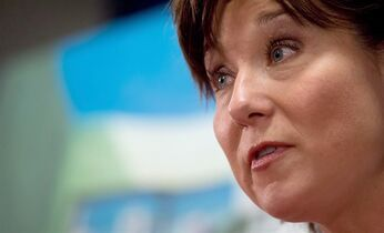 British Columbia Premier Christy Clark is pictured in Vancouver, on May 27, 2014. THE CANADIAN PRESS/Darryl Dyck