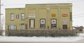 Candle Company Antiques & Gifts, at 3796 Main St., occupies a building formerly used as a hydro-electric station by Winnipeg Electric.