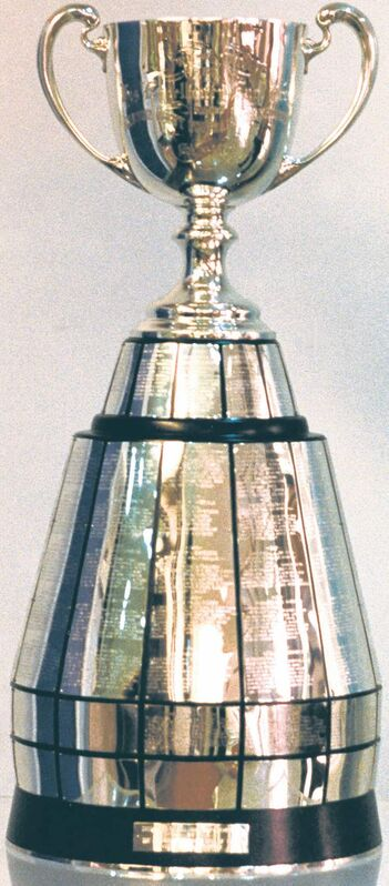 The Grey Cup Trophy