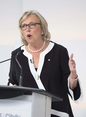 Green party Leader Elizabeth May. (Frank Gunn / Canadian Press files)