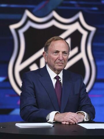 NHL commissioner Gary Bettman didn't bring up the sexual assault allegations during his state-of-the-league address. (Mike Stobe / Getty Images)