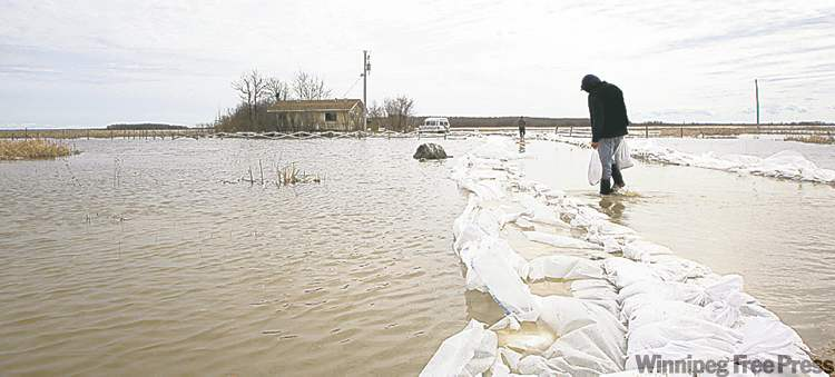 Lake St. Martin First Nation, 255 kilometres northwest of Winnipeg, is low-lying and plagued with repeated flooding.