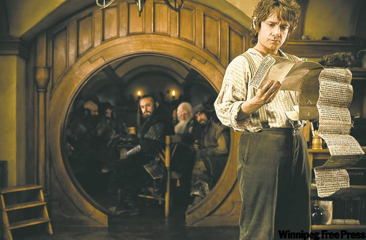 A scene from the The Hobbit