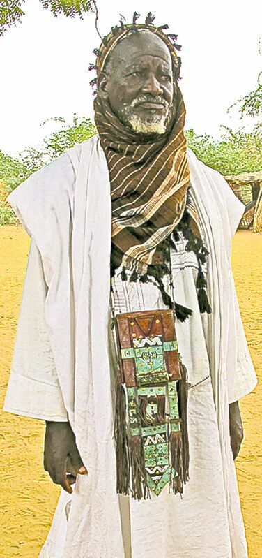 Tuareg Chief Moussa Issa.