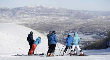 About half of Utah's 14 resorts are up and running on snow that piled up during November. Officials say season-pass sales are strong. Park City has booked 28 per cent of the season for lodging already.