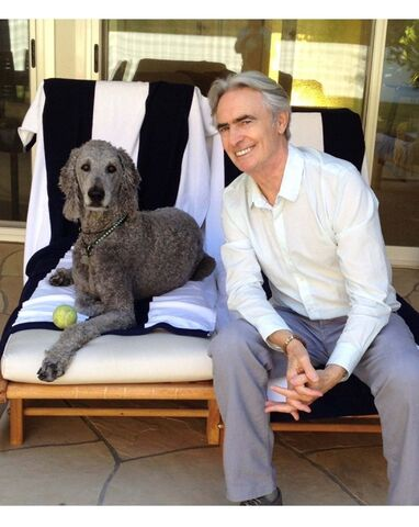 Robyn Todd photo</p><p>In Inside Comedy, David Steinberg (pictured here with his dog Izzy) has collected five decades of memories of some of his favourite comedians, as well as passages by comedic legends taken from his show of the same name.</p>